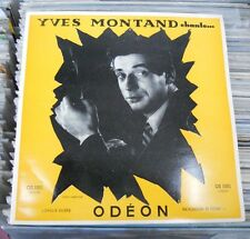 """YVES MONTAND CHANTE… 'RUE LEPIC' FRENCH 10"""" LP"""