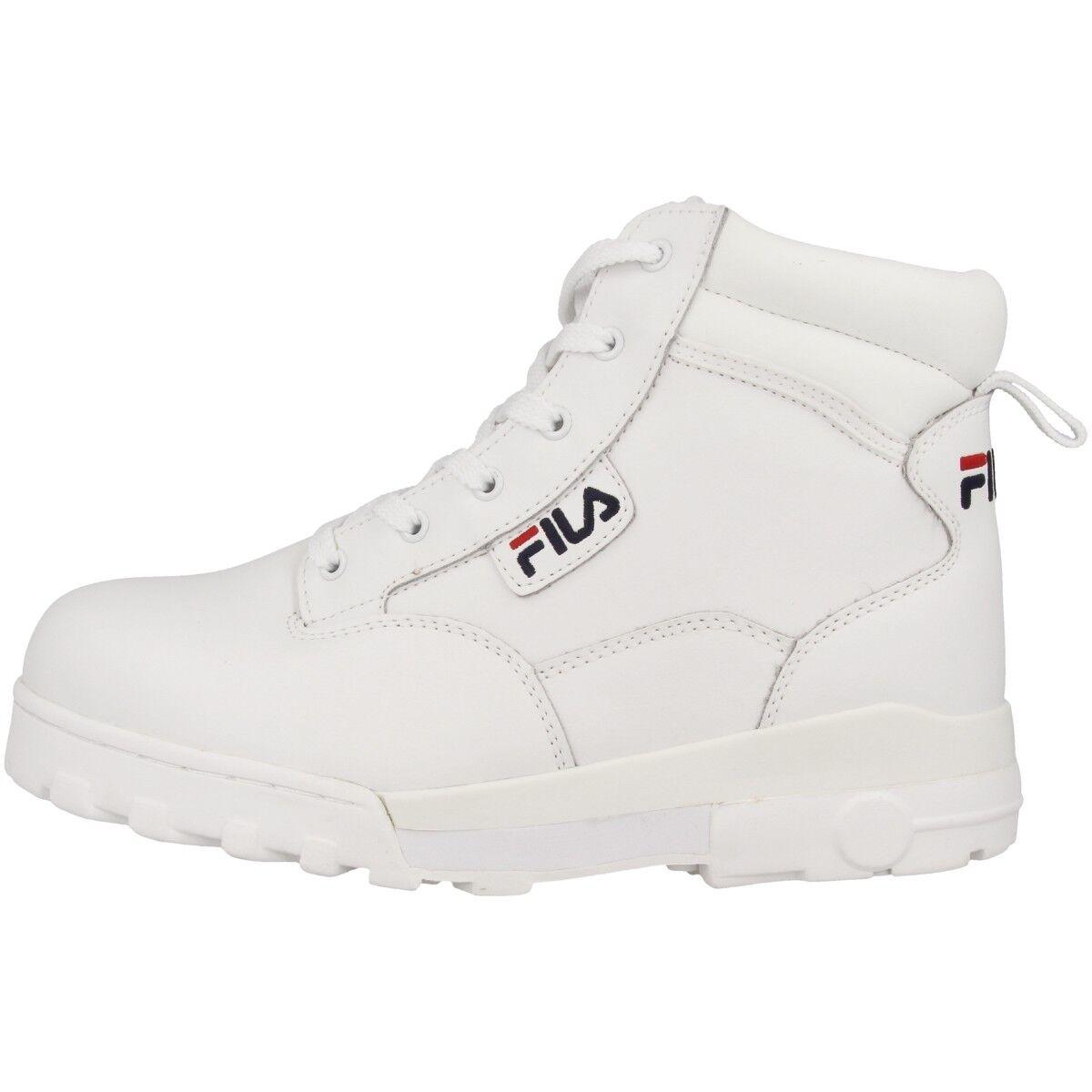 Fila Grunge L Mid Schuhe Outdoor Stiefel Retro Hiking Stiefel Weiß 1010249.1FG
