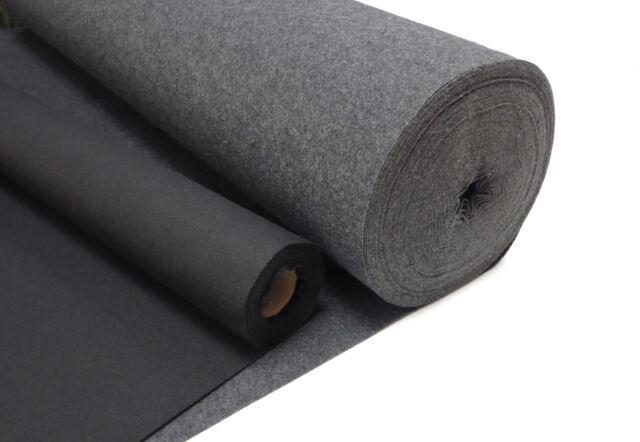 Profi Filz Meterware ab 0,1m stark selbstklebend 2-10mm weiß braun schwarz grau
