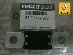 oe genuine renault battery fuse link connector clio kangoo. Black Bedroom Furniture Sets. Home Design Ideas