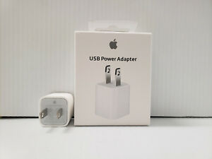 Details about 2X OEM 5W USB Power Adapter for Apple iPhone 7 8 X XR XS XSMAX