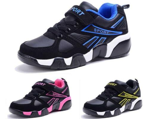 New Kids Boys Girls Leather Sport Shoes Sneakers Casual comfort School Shoes