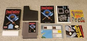 Final-Fantasy-1-I-Nintendo-NES-RPG-Game-Complete-CIB-Box-Map-Chart-Manual-lot