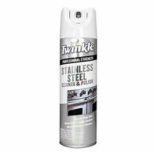 Twinkle TI-525417 Stainless Steel Cleaner 17 Ounce 1.06 Pound Pack of 1