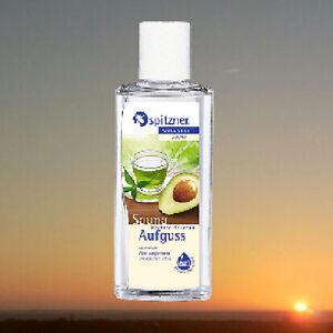 Spitzner-Saunaaufguss-Gruentee-Avocado-190-ml