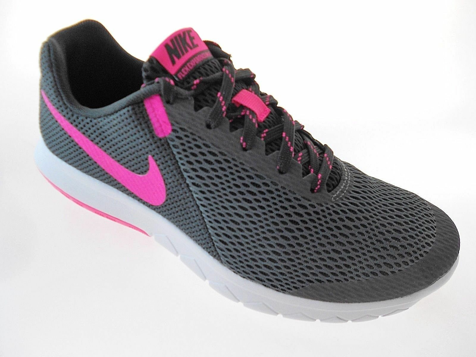 Nike Flex Experience RN 5 Womens Wide Running Shoes 869566-002 Black/Pink/White Comfortable and good-looking