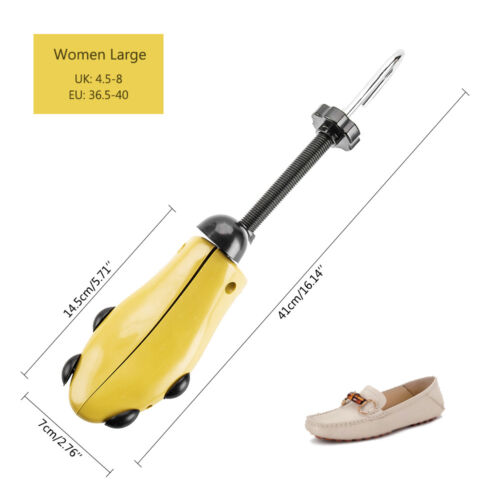 2pc Mens Women Shoe Stretcher Tree Ladies Boot Adjustable Width Two-Way Shoes