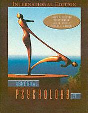 Acceptable, Abnormal Psychology (Pie), Mineka, Susan M, Hooley, Jill M., Butcher