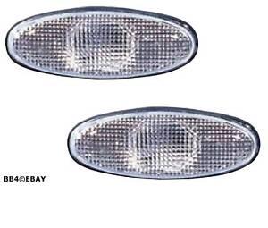 Image is loading White-Smokey-Replacment-Side-Indicator-Lights-for-Holden-  sc 1 st  eBay & White Smokey Replacment Side Indicator Lights for Holden Commodore ...