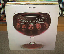 "DEEP PURPLE - COME TASTE THE BAND Gatefold 12"" Vinyl LP (Import)"