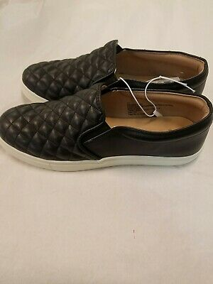 Reese Quilted Sneakers Black Size