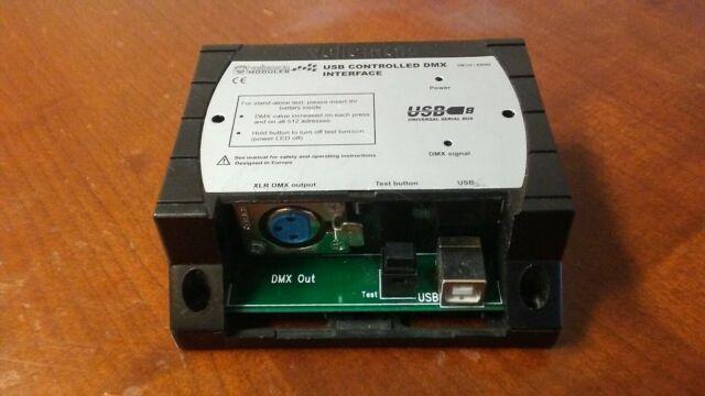 Velleman VM116 USB CONTROLLED DMX INTERFACE