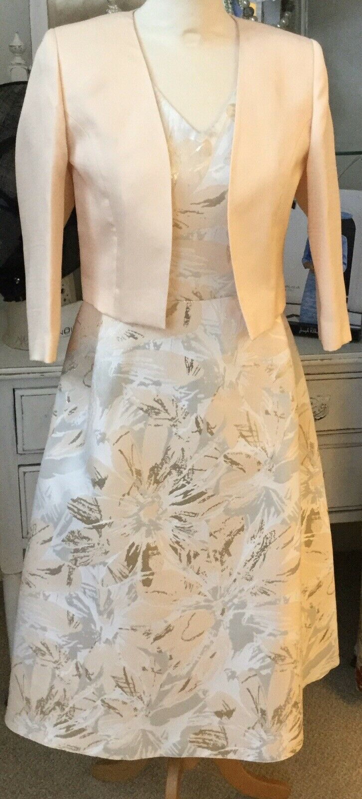 Ella Boo Mother Of The Bride / Groom Size 10 Dress And Jacket
