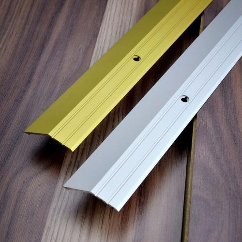 100cm ORO PROFILO INCLINATO alluminio porta sbarra pavimento 0.9m 1m 90cm