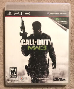 Call of Duty: Modern Warfare 3 (Sony PlayStation 3, 2011) Complete