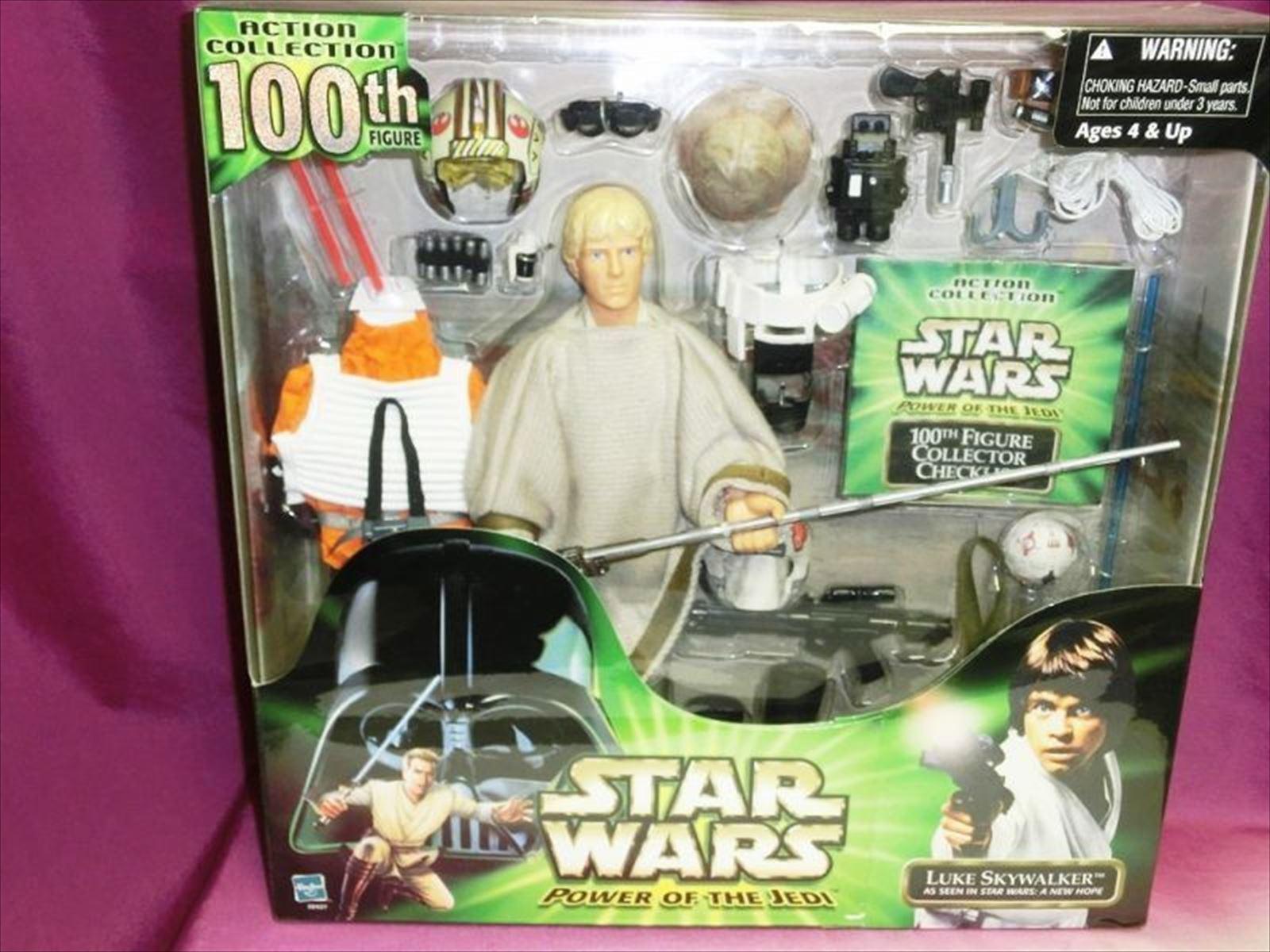 TOMY Star Wars Power of the Jedi Luke Skywalker 100th Figure from JAPAN F/S
