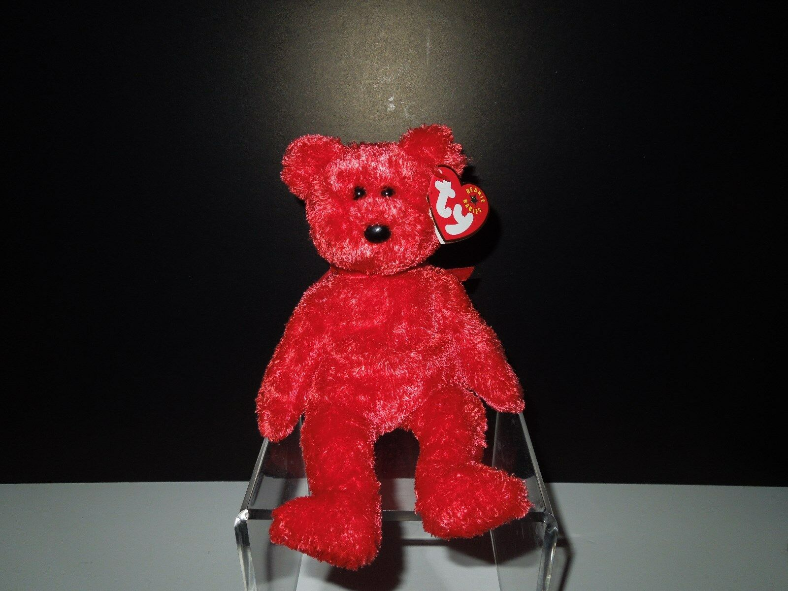 MNWT Retired 2001 Ty Ty Ty Beanie Baby Sizzle the Bear DOB  August 25, 2001 57c456