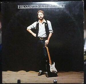 ERIC CLAPTON Just One Night GateFold LIVE Album Released 1980 Vinyl/Record USA