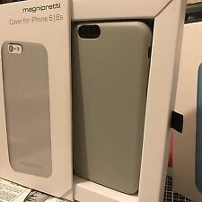Rugged Impact Resistant Case Grey Protective Internal Micro Fibre iPhone 6 & 6S