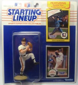 1990  STEVE BEDROSIAN - Starting Lineup - SLU - Sports Figurine - S.F. Giants