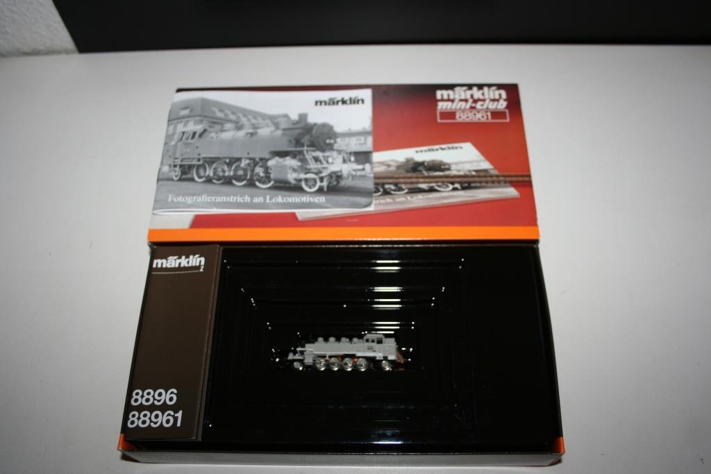 Traccia Z Mini-club: 88961 locomotiva a vapore BR 86 090 foto nelle vernici, OVP