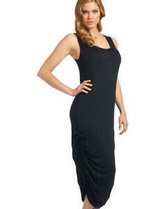 Freya Gigi Jersey Maxi Dress Beach Cover Up Uk Size Small Beachwear Black C7 Ebay