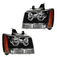 Chevrolet Tahoe 07-11 Headlights Headlamps Pair Set Left Lh & Right Rh New