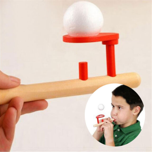 Baby Kids Wooden Blowing Ball Balance Training Children Boys Girls Puzzle Toys