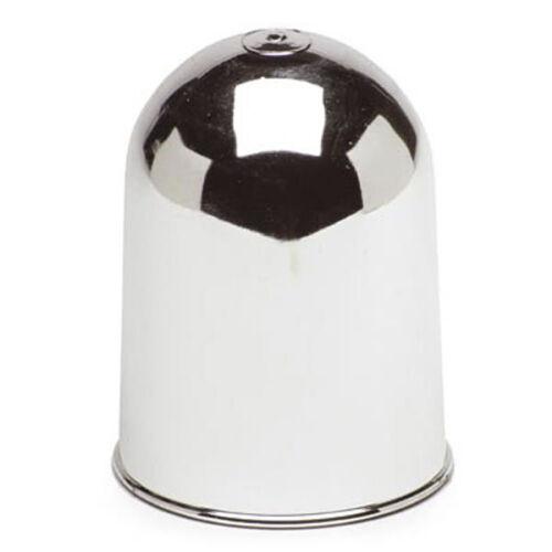 CHROME TOW BAR BALL COVER PLASTIC CAP CAR TOWING HITCH TOWBALL 50MM