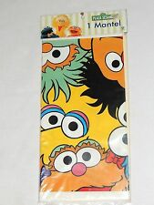 "~SESAME STREET~  PLASTIC TABLECOVER  54""X78""   PARTY SUPPLIES"