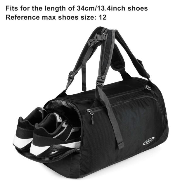 60565857b1 Backpack Duffle Outdoor Sports Gym Bag Carry On Luggage With Shoes  Compartment