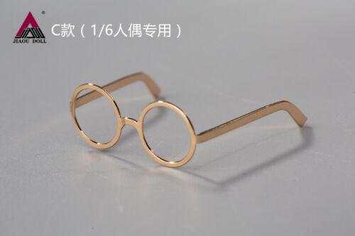3pcs1:6 JIAOU DOLL Sunglasses Glasses Model  Fit 12inch Male Female Figure Body