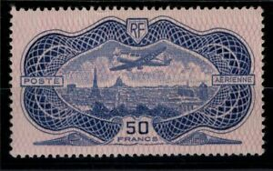 S138460-FRANCE-AIRMAIL-BURELE-Y-amp-T-15-MH-CERTIFICATE-CV-937