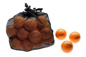 25 x CHAMPION - Golfbälle | Distanz-Bälle für langen, weiten Ballflug | orange