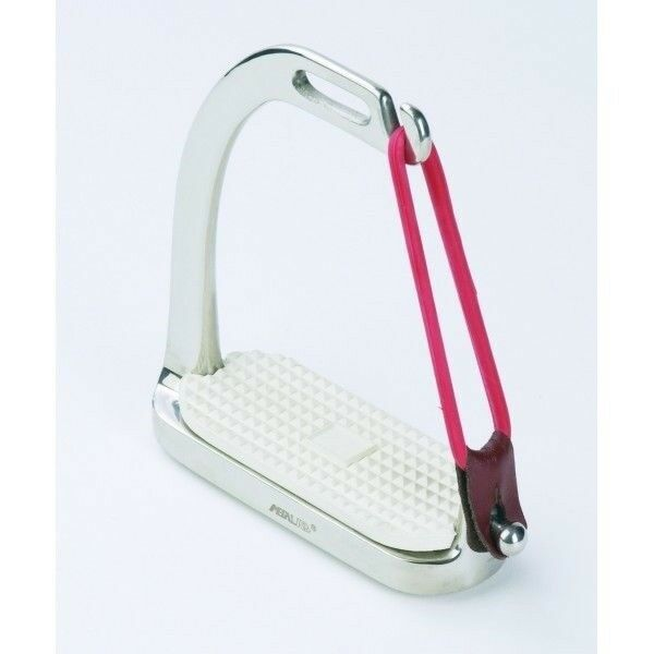 Centaur Stainless Steel Fillis Peacock Stirrup Irons Quick Release