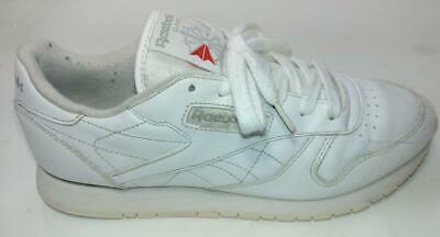 sesión Lustre tubo  Reebok Classic Leather Sneakers (US Women Size 10) USED Good condition |  eBay