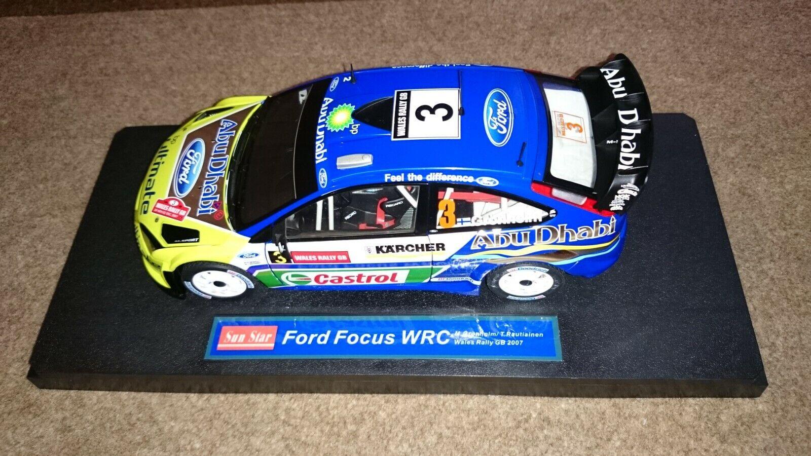Ford Focus RS WRC 1 18 Grönholm