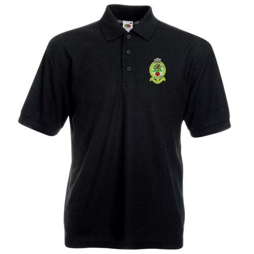 Principessa del Galles del Regimento Reale Polo Logo Ricamato pwrr