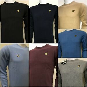 LYLE-amp-SCOTT-LONG-SLEEVE-CREW-NECK-JUMPER-FOR-MEN-WINTER-COLLECTION