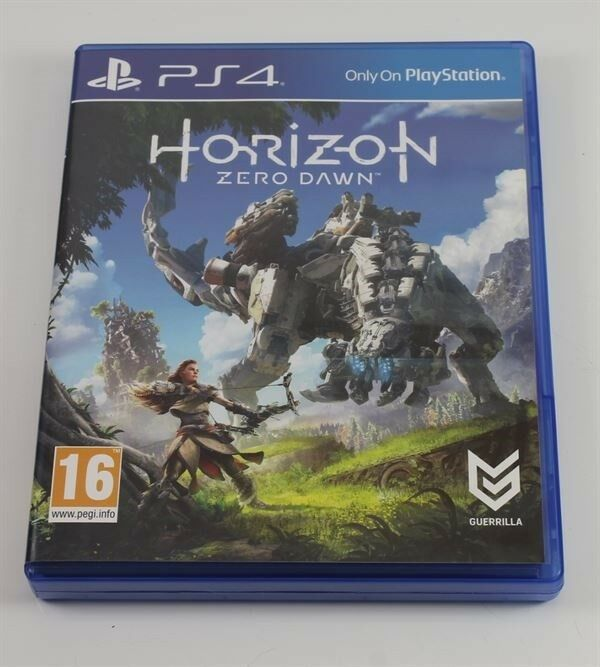Horizon Zero Dawn, PS4, adventure