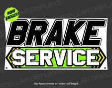 4x2 Brake Service Auto Repair Shop Entrance Vinyl Banner Open Sign Display Arrow