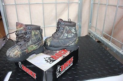 Mossy Oak Camo Boys Girls Neoprene Winter Hunting Boots Toddler 7 8 9 10 11 12