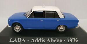 1-43-LADA-ADDIS-ABEBA-1976-TAXI-SIN-CAJA-IXO-ALTAYA-ESCALA-DIECAST