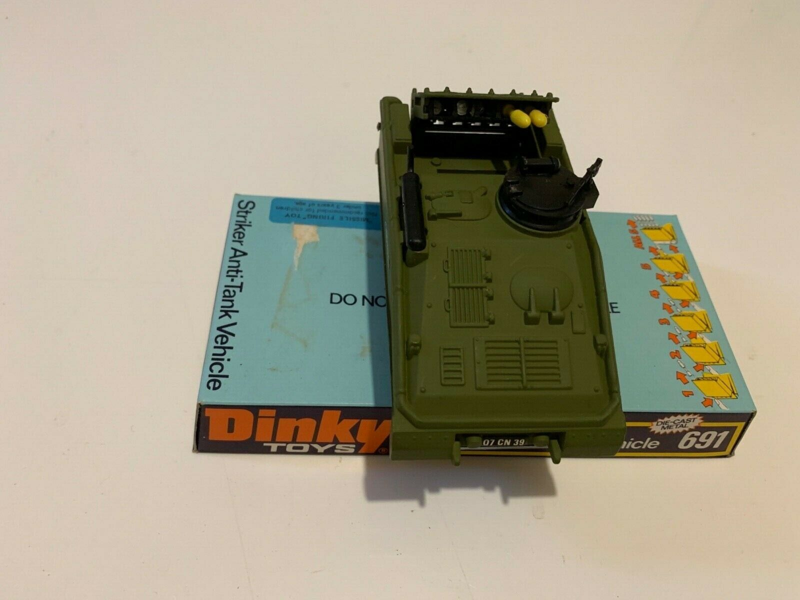 Dinky 691 Striker Anti Tank Vehicle Model in Mint Condition