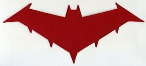 Batman-Red-Hood-Embroidered-Logo-Iron-on-Patch-Choice-of-Sizes