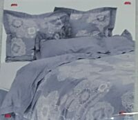 Anthropologie Grey Chatelaine Collection 350 Thread Count Euro Sham