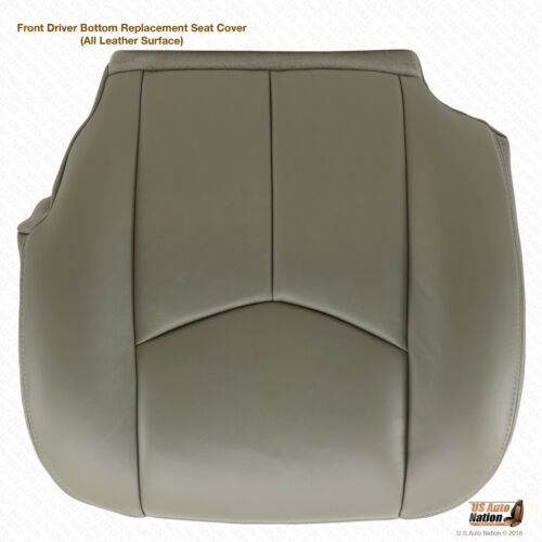 Foam Cushion Gray 2003-2006 Chevy Avalanche Driver Bottom Leather Seat Cover