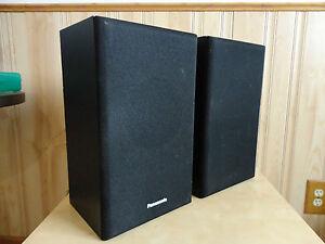 Panasonic--2.0 STEREO SPEAKER SYSTEM(2-PIECE)---BLACK