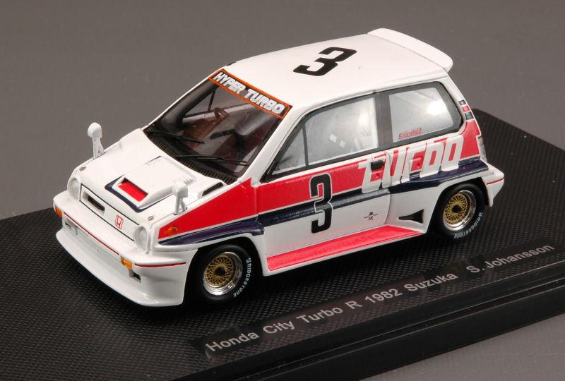 Honda city turbo r  3 disparaitra 1982 p. Johansson 1 43 MODEL 44471 EBBRO