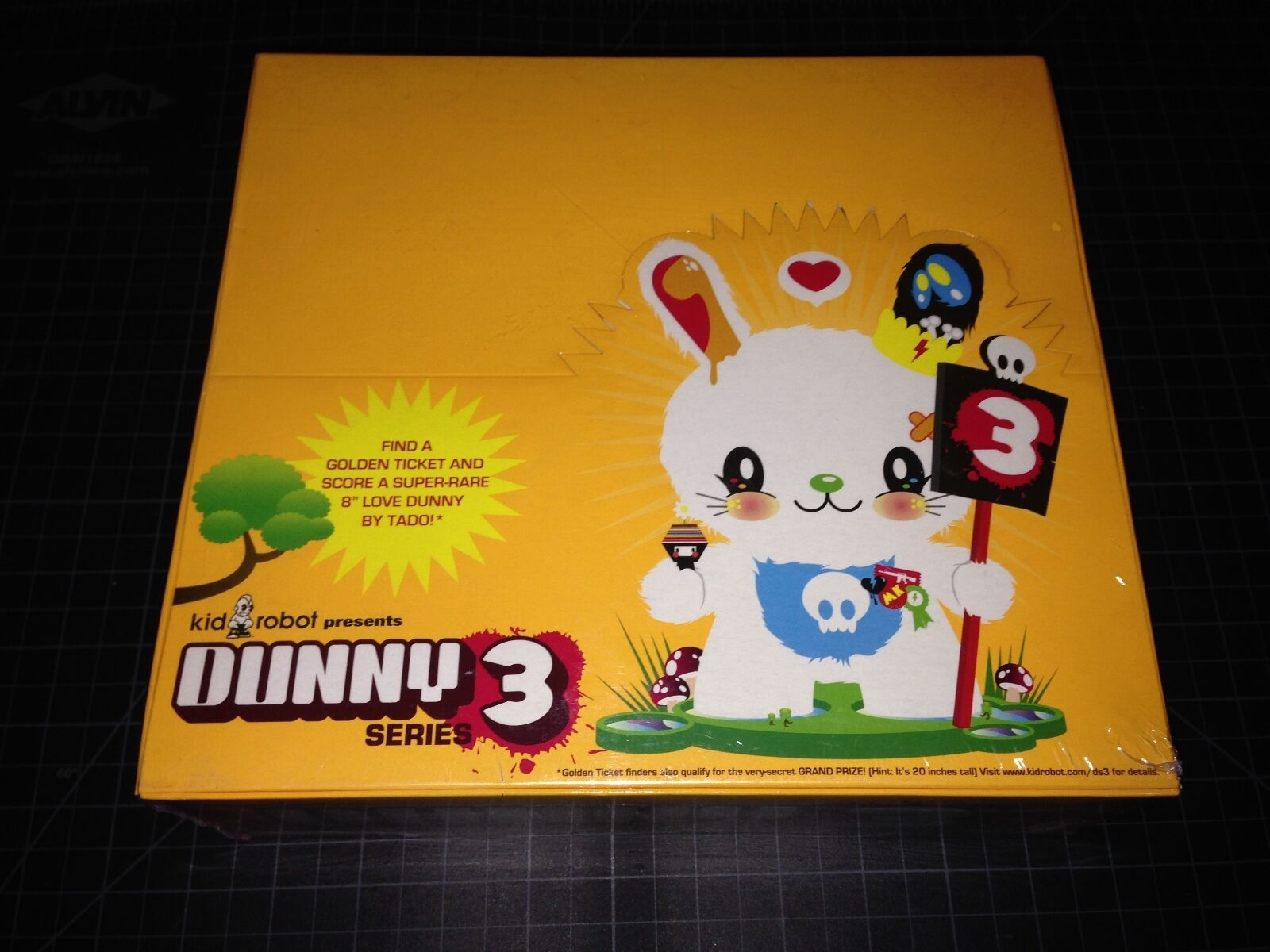 Kidrobot x DUNNY Series 3 FACTORY SEALED Case Blind Boxes Vinyl Figure Toy